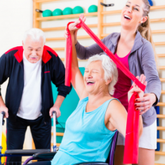 seniors in therapy