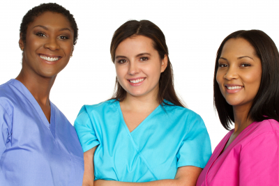group of caregivers